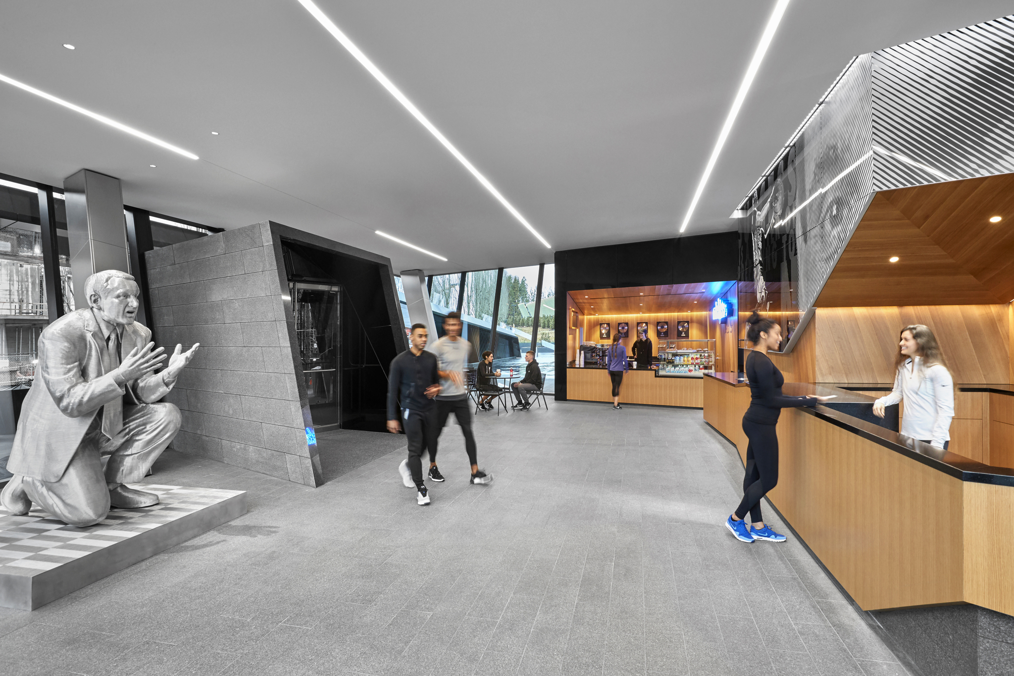 Fitness Center | World Headquarters Expansion | PAE