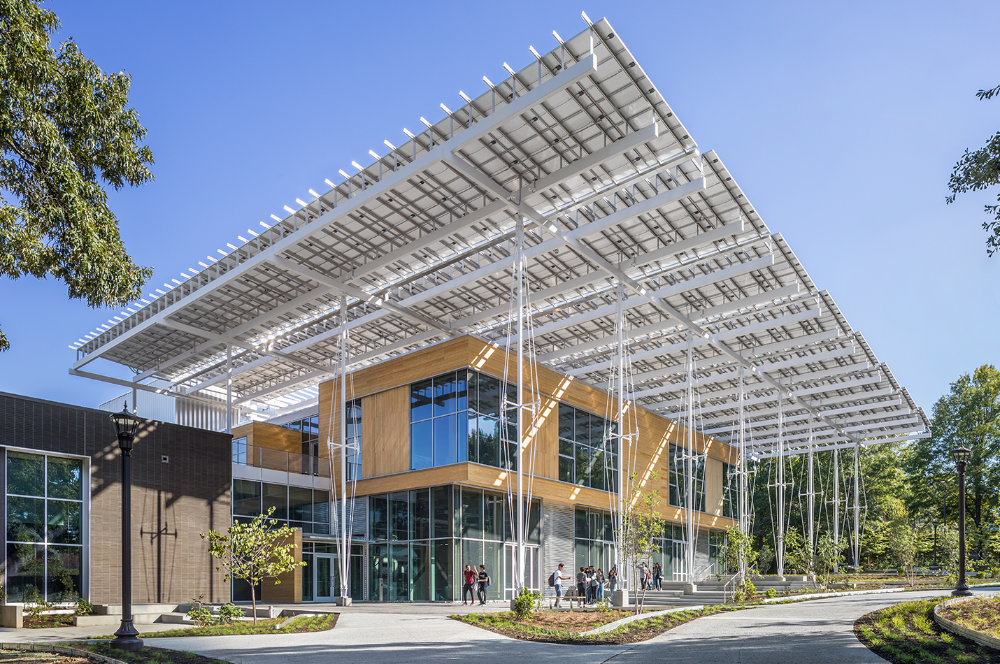 The Kendeda Building for Innovative Sustainable Design. Photo: Jonathan Hillyer.