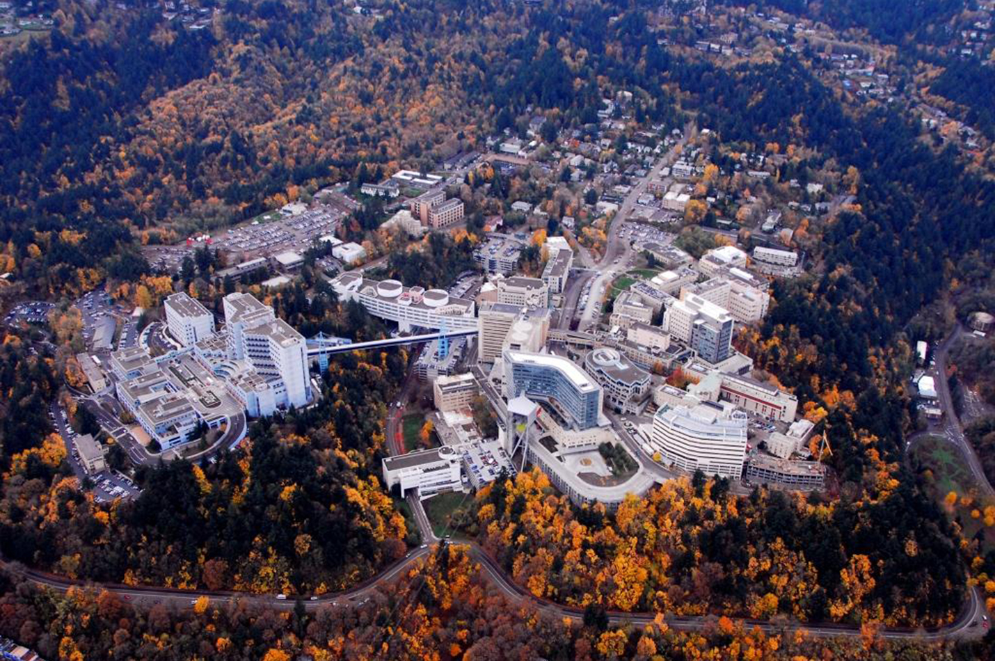 Marquam Hill Campus Ohsu Pae Projects Pae